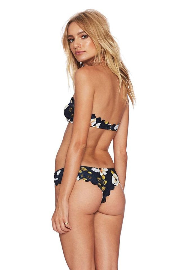 BEACH RIOT - HAILEY TOP - NAVY FLORAL