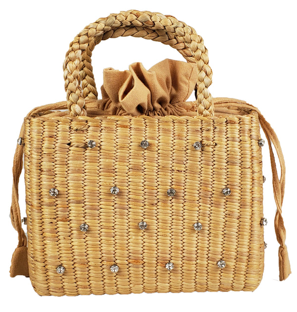 Hat Attack - Gemma Bag - Natural