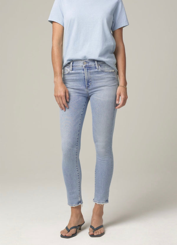 CITIZENS OF HUMANITY - ROCKET CROP MID RISE SKINNY FIT IN SOFT FADE