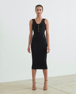 Ronny Kobo - Nina Dress - Black