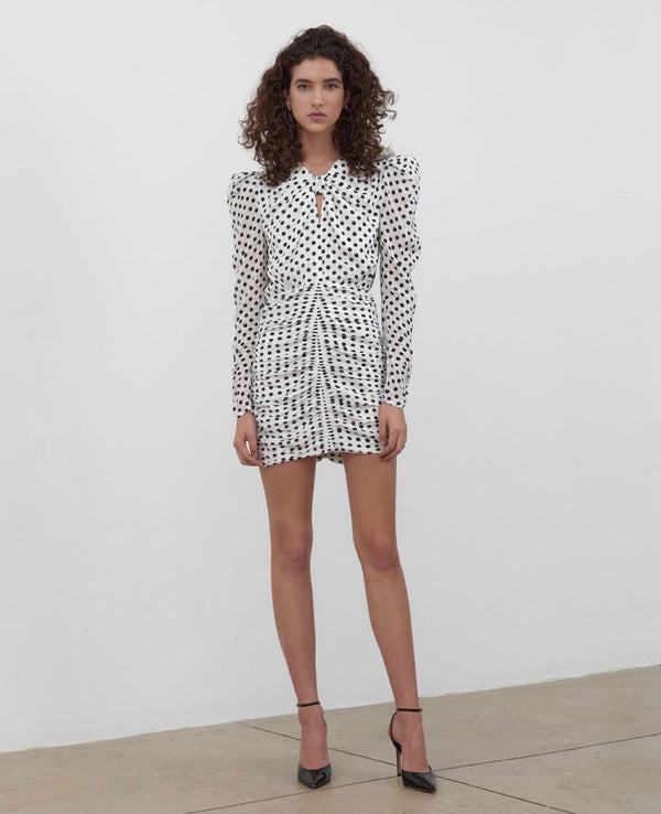 Ronny Kobo - Flora Dress - White Black