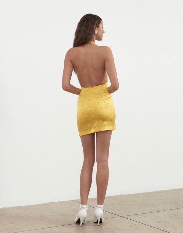 Ronny Kobo - Marisa Dress - Lemon