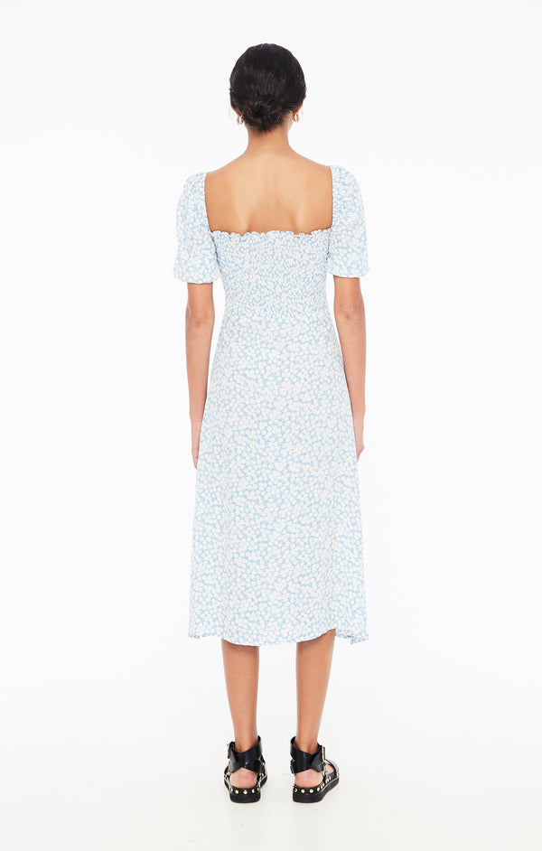 Faithfull The Brand - Majorelle Midi Dress - Bella Floral Print