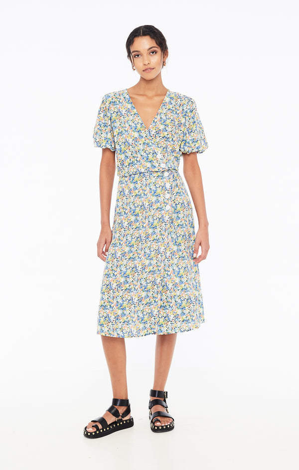 Faithfull The Brand  - Marta Midi Dress - Vionett Floral Print