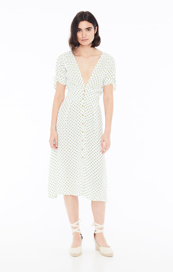 Faithfull The Brand - Billie Midi Dress - Dahlia Floral Print