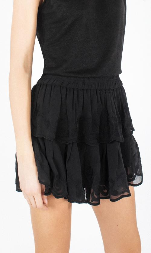 GENERATION LOVE - PAMELA SKIRT - BLACK