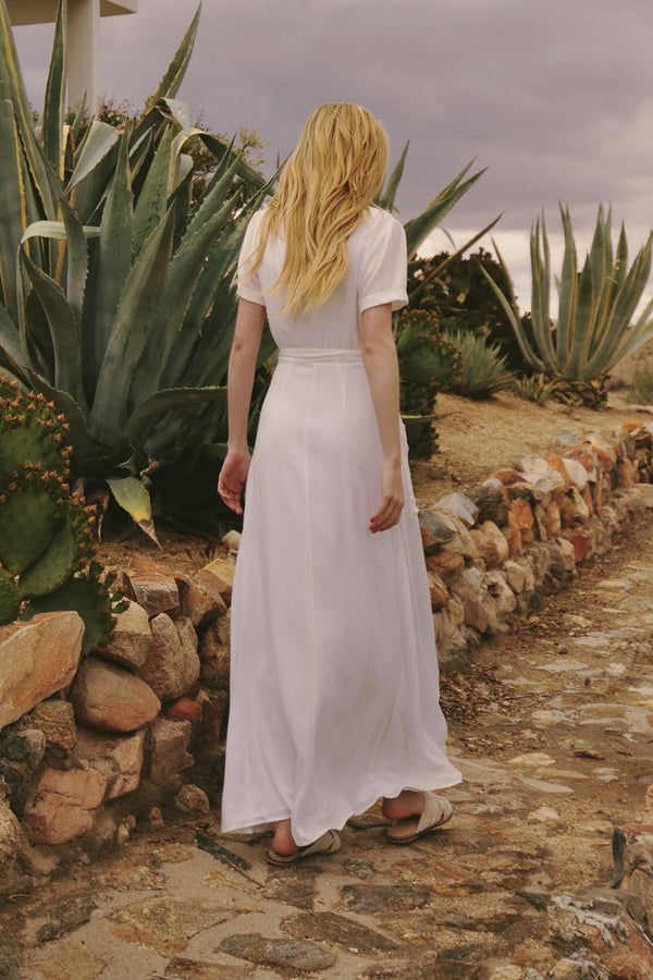 The Jetset Diaries - Freebird Maxi - White