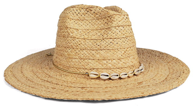 Hat Attack - Marty Shell Hat - Natural