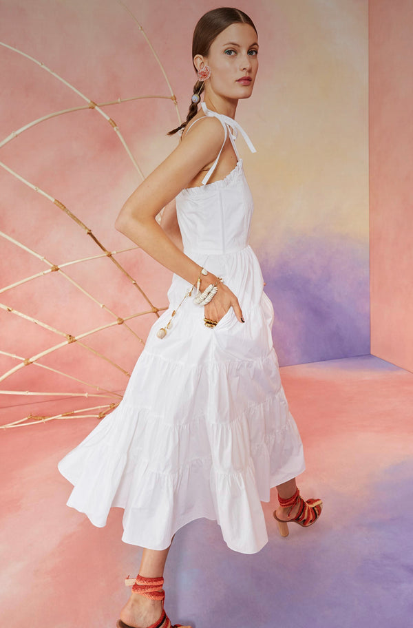 Ulla Johnson Ellyn Dress Blanc