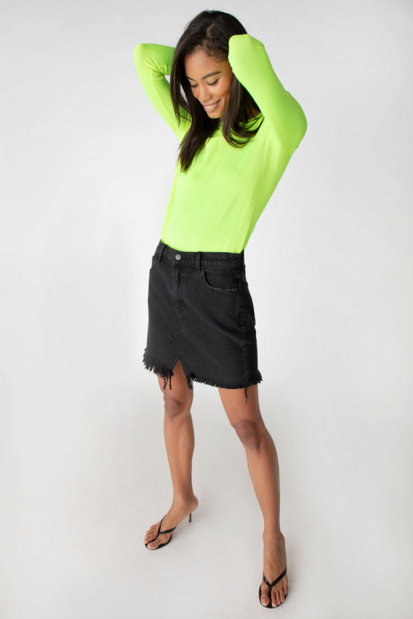 J Brand - Jules High-Rise Skirt - Undercover Destruct