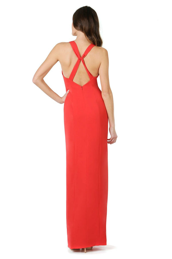 JAY GODFREY - JOEY GOWN - FIRE RED FIBER