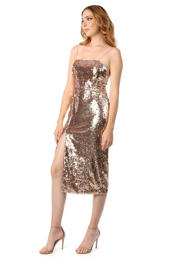 Jay Godfrey - Maurice Dress - Rose Gold