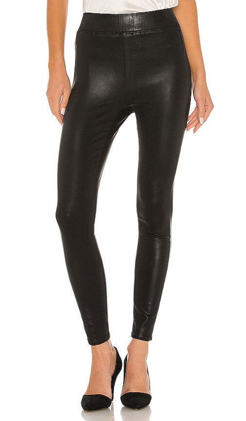 L'Agence - ROCHELLE PULL ON JEAN - Black Coated