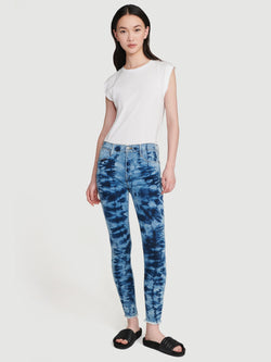 Frame - Le High Skinny Raw Edge Jeans - Gaze