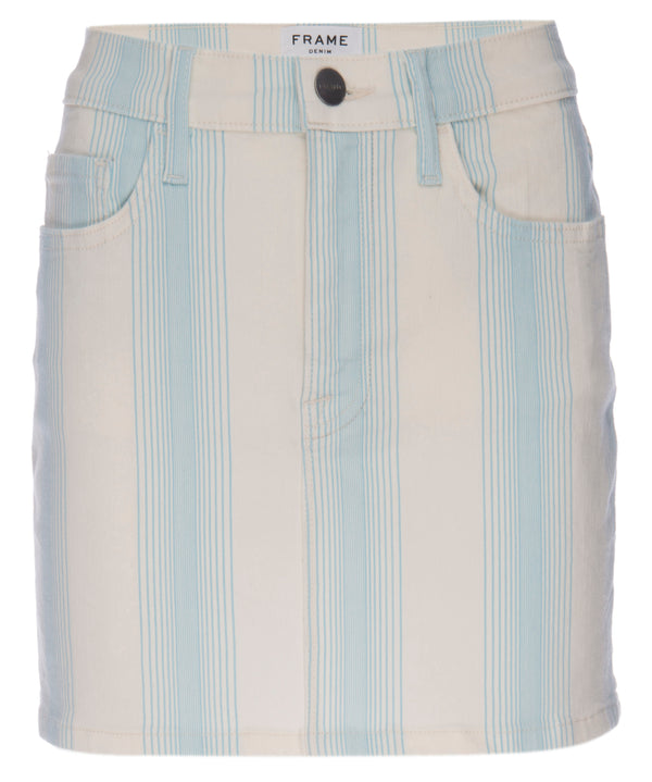 Frame - Le Minim Skirt - Ombre Stripe