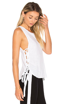 LNA - TIED UP TANK - WHITE