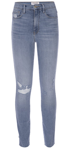 Frame Denim - Le Sylvie H/R Raw Edge - Overdrive