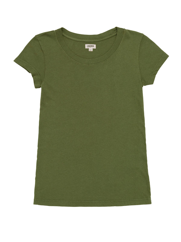 L'agence - Cory Scoop Neck - Basil