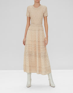 Alexis - Michella Dress - Dusty Gold