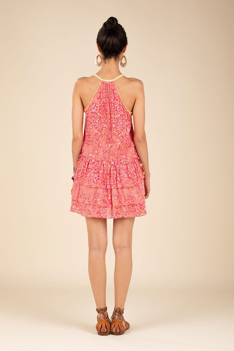 Poupette St. Barth - Mini Dress Bety Ruffle