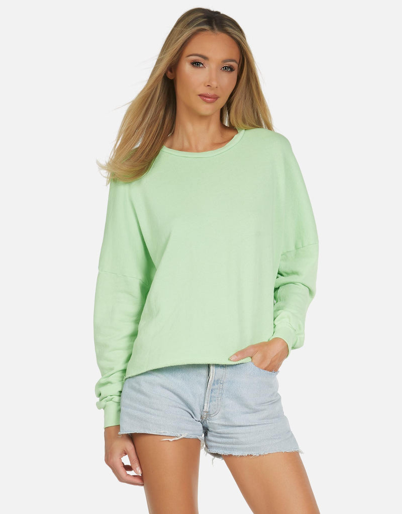 Michael Lauren - Travis Crop Pullover - Multiple Colors Available
