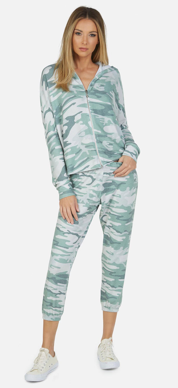 Michael Lauren - Nate Crop Sweatpants - Camo