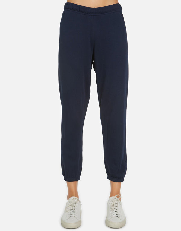 Michael Lauren - Nate Crop Sweatpant - Twilight