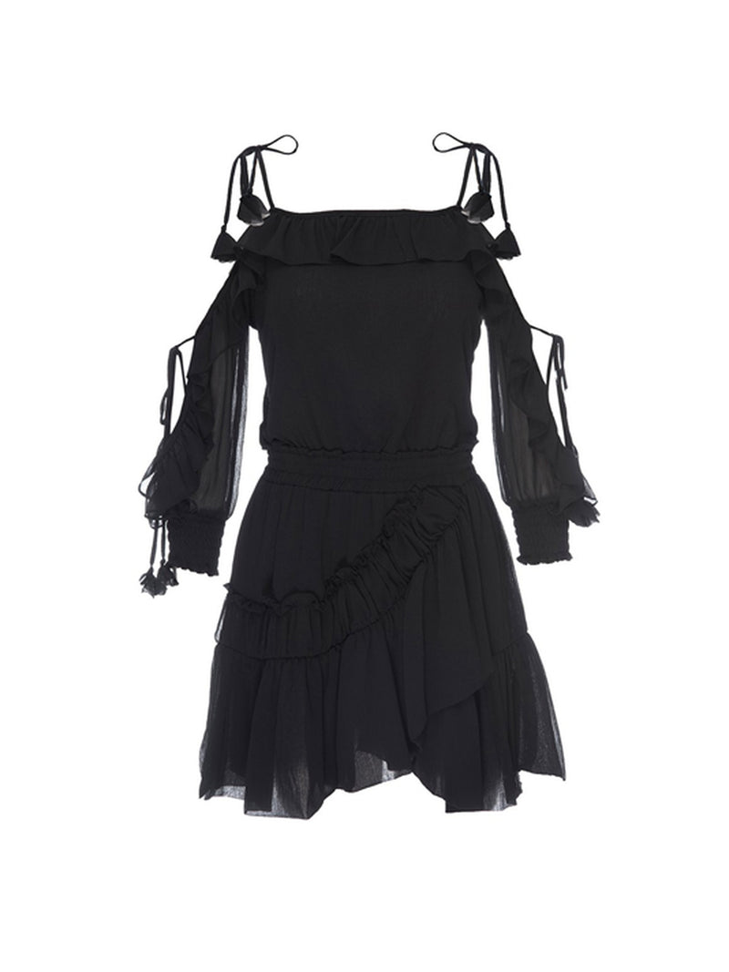 Misa - Emelie Dress - Ink Black
