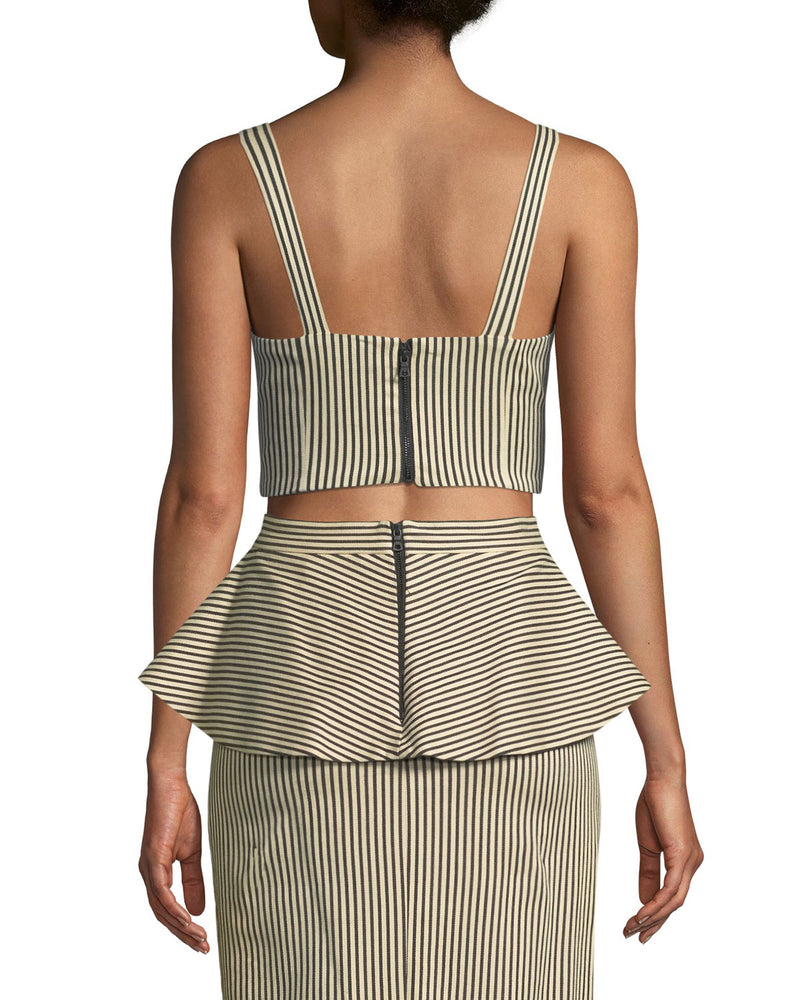 Alice + Olivia - Cristi Sweetheart Bustier - Natural Black
