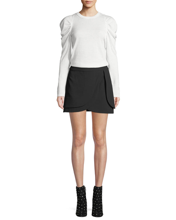 Alice + Olivia - Nicolina Layered Tulip Skirt - Black
