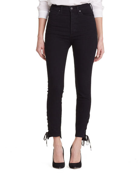Citizens of Humanity - Olivia Ankle Lace Slim - Black
