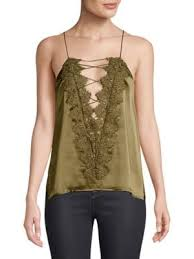 CAMI NYC - CHARLIE CHARMEUSE - OLIVE