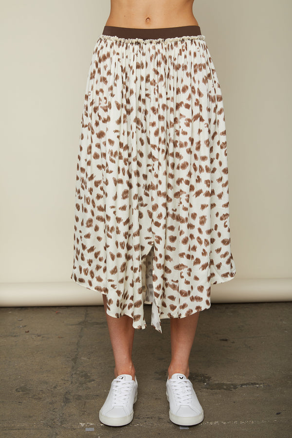 Sundays - Perry Skirt - Animal Print
