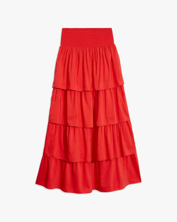 Weworewhat - Paloma Skirt - Ruby