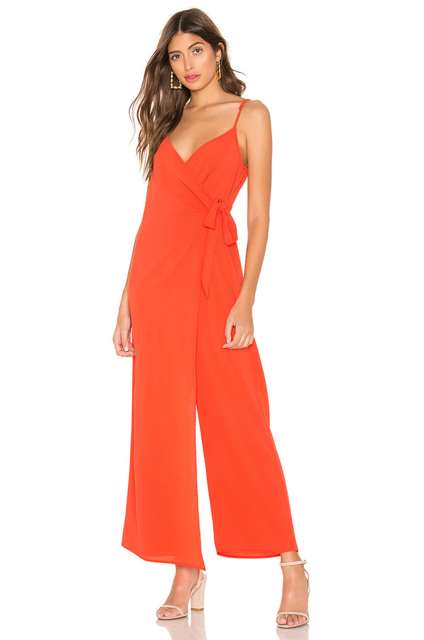 SHOW ME YOUR MUMU - DARIA JUMPSUIT - RED