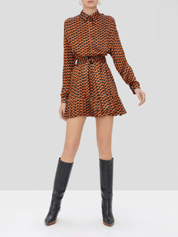 Alexis - Symon Dress - Amber Geo