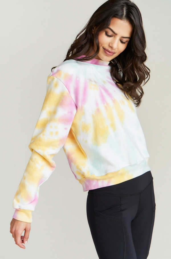STRUT THIS GEORGIE SWEATSHIRT- FUNFETTI