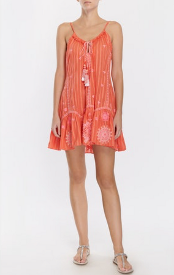 Ramy Brook Selma Dress - Sunkist