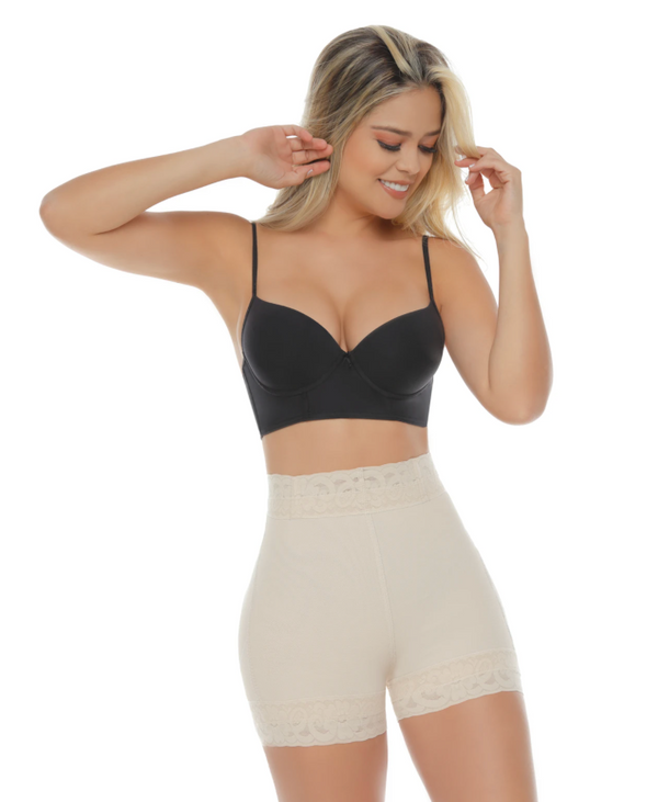 Jholui Shapewear - 0158 South Beach High Waist Buttlifter - Beige