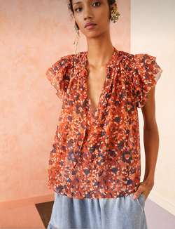 Ulla Johnson - Tess Top - Poppy