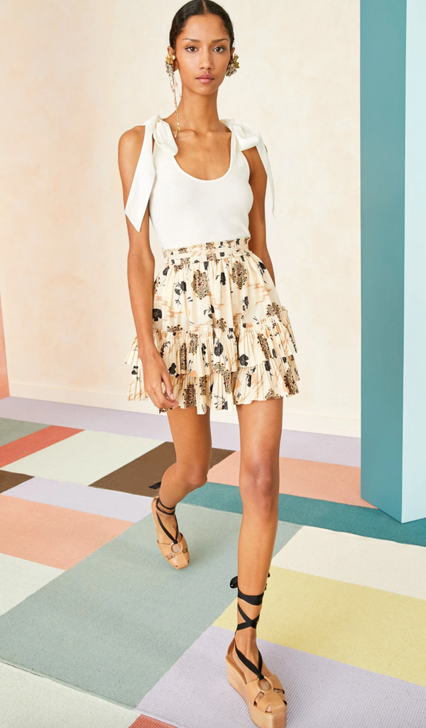 Ulla Johnson - Leela Skirt - Daisy