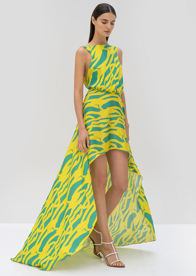 Alexis - Rajiya Dress - Citrus Gehry