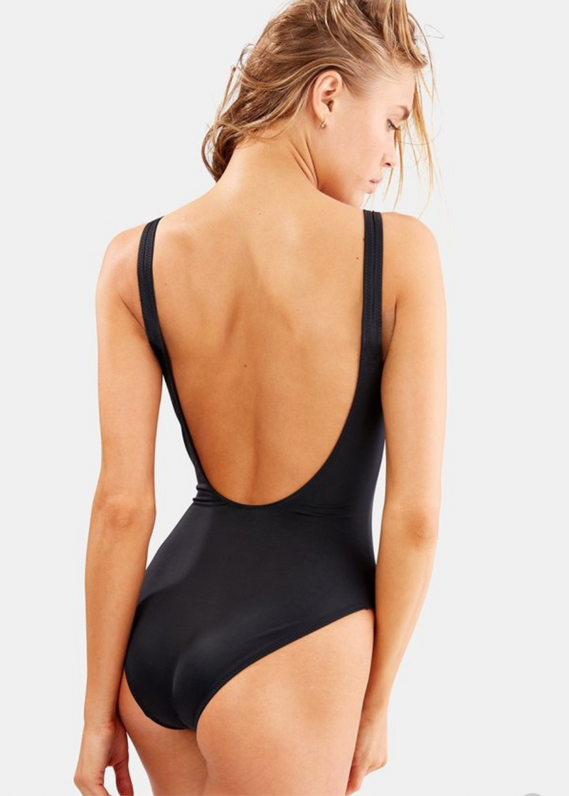 Solid & Striped - The Stella One Piece - Black