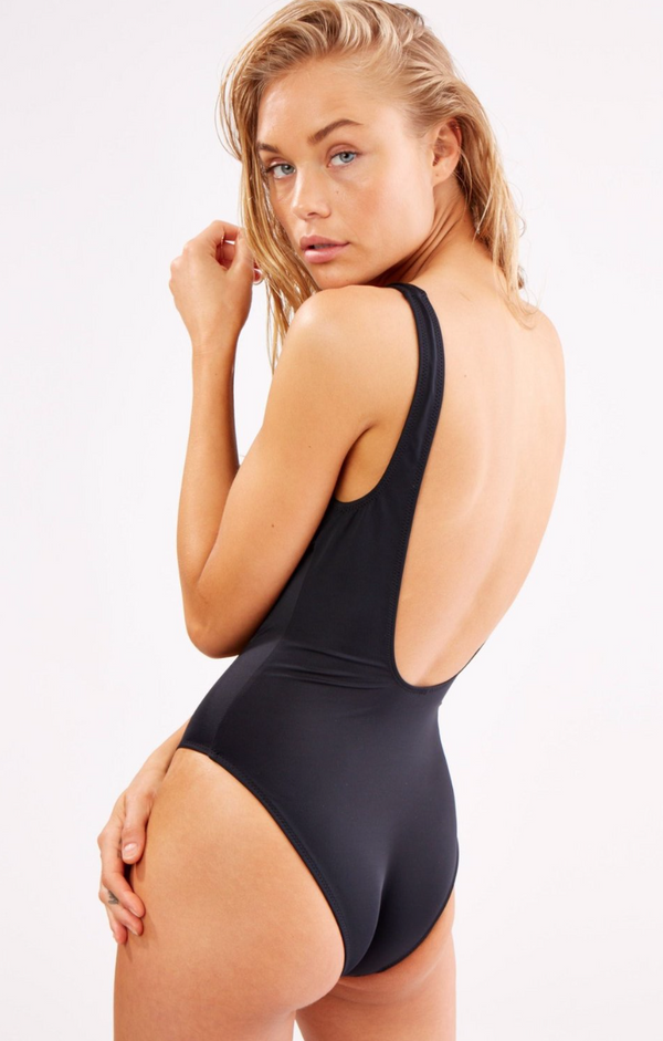 Solid & Striped - The Sophia One Piece - Black
