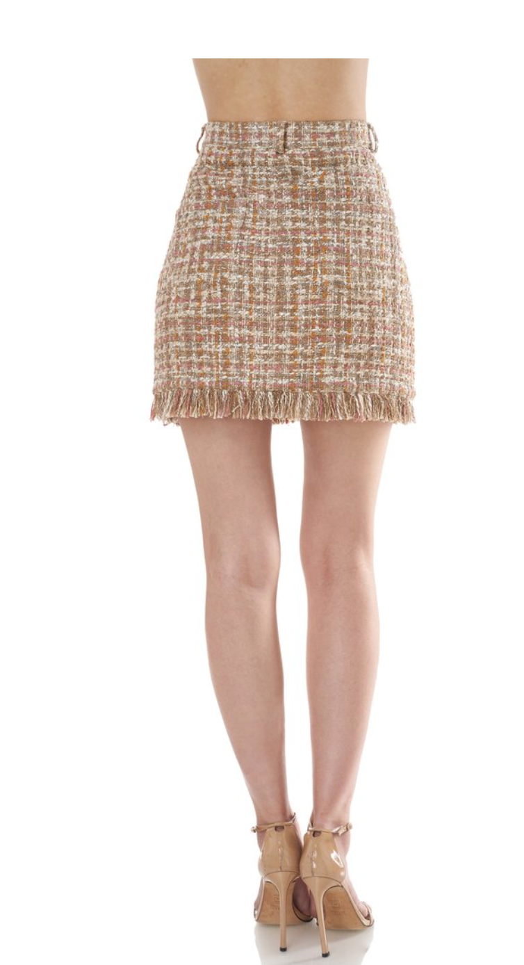 AMUR - Luann Skirt - Neutral