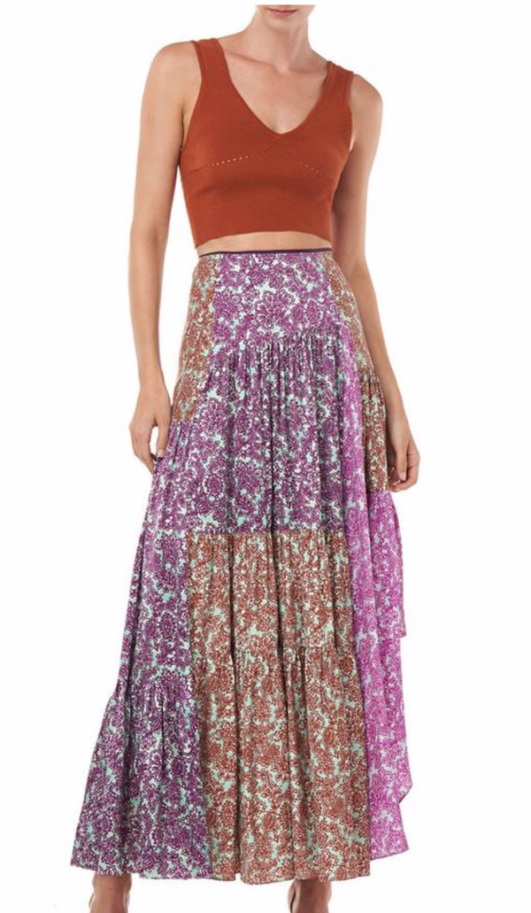 AMUR - Scout Skirt - Purple Multi
