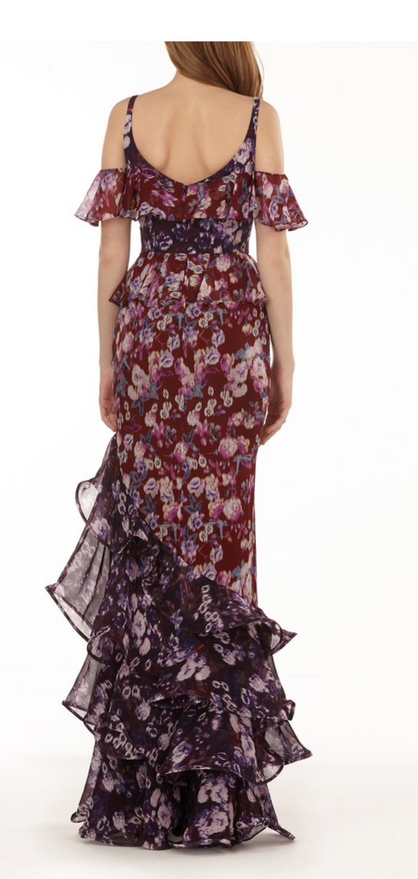 AMUR - Moira Gown - Bordeaux