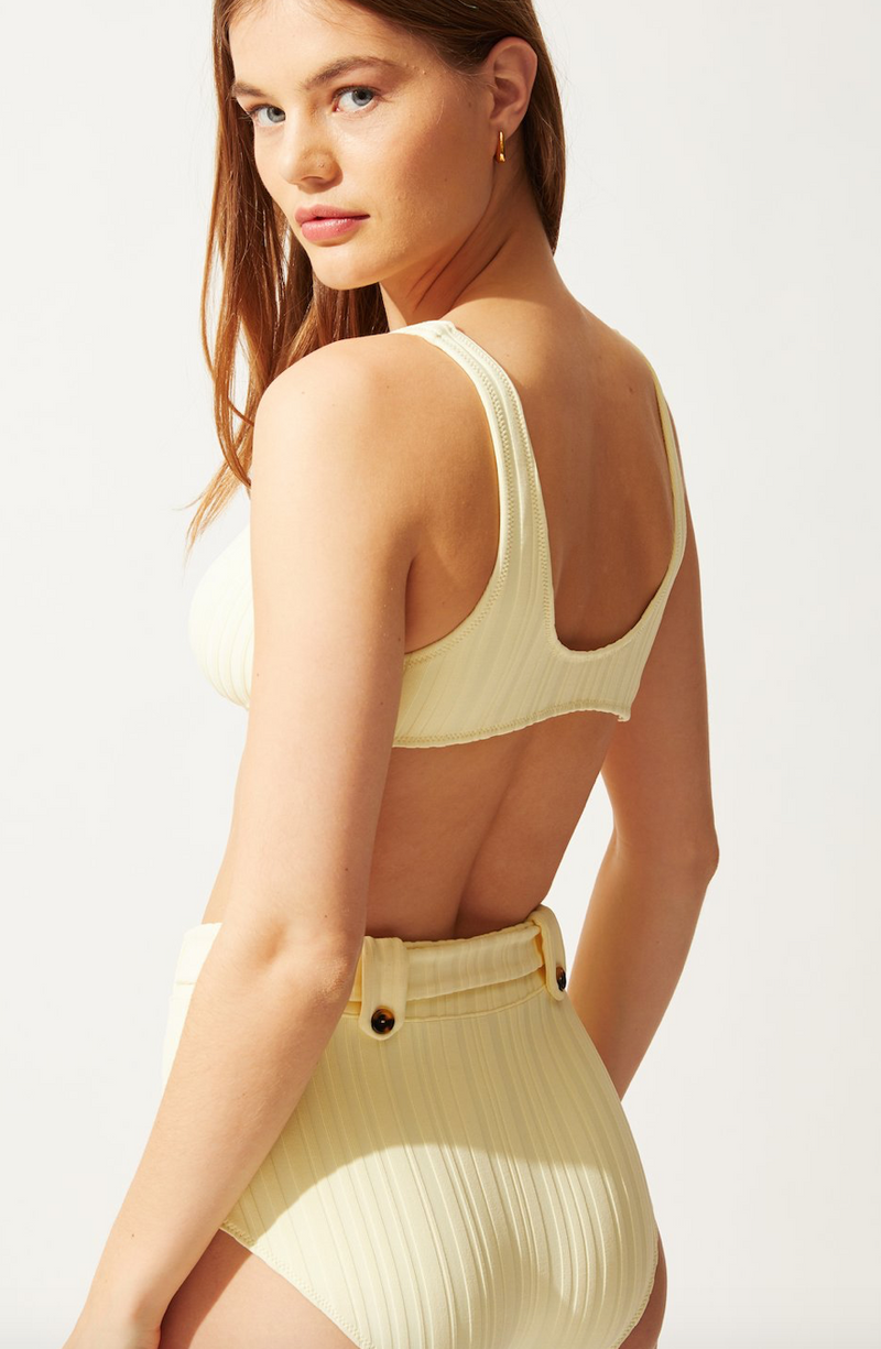 Solid & Striped - THE ANNIE TOP BLONDE RIB