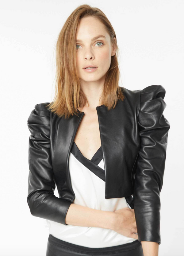 Generation Love - Ashley Leather Jacket - Black