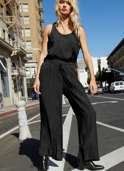 Nation - San Vicente Pants - JetBlack